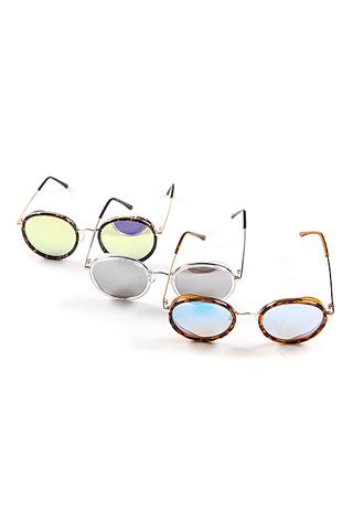 [8월말 순차발송]서펜더 미러 선글라스(3color)