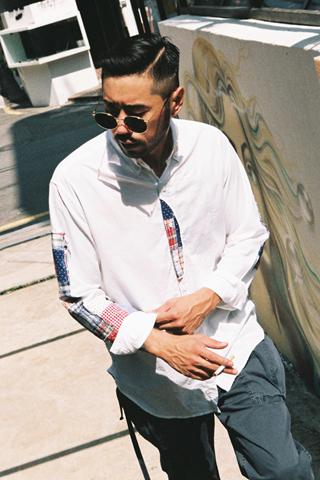 [입고지연]패치워크 포커스 셔츠(2type)