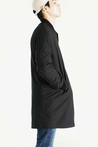 하프 런웨이 항공점퍼(black)